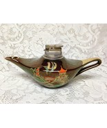 Vintage, Carlton Ware, Gaudy Blue Willow Alladin Style Lighter 8.5in x 4... - $118.70