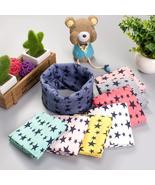 Stars Print Ring Scarves for children Warmer Scarf Autumn Winter Kids Bo... - $9.99