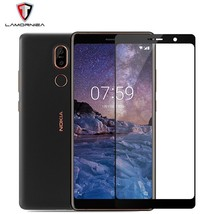 Tempered Glass Nokia 7 Plus 2.5D Full Cover Screen Protector Protective Film - $14.02+