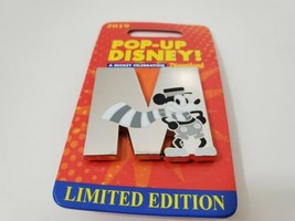 Disneyland Pop Up Disney Mickey Celebration Letter M Limited Edition 200... - $69.90