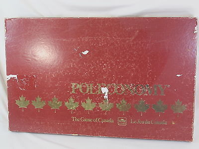 Primary image for Poleconomy Board Game of Canada 1983 Golden 100% Complete Excellent @@