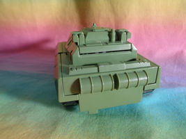 Transformers 2008 Hasbro Green Army Tank Replacement Parts - as is image 4