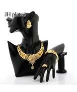 Exquisite Luxury Dubai Jewelry sets of gold color India Nigeria African ... - $25.21