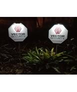 2 Vector Security Yard Signs + 6 Door/Window Deals + 2 Clip On Solar Lights - $62.99