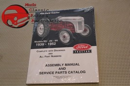 Ford Tractor 8N/9N/2N Assembly Manual Service Parts Catalog 1939-52 - $23.00