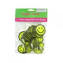 Foam Happy Face Craft Shapes CC236 - $38.31