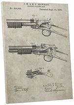"Pingo World 0302Q78JVAM ""Browning Shotgun Patent"" Gallery Wrapped Canvas Print,  - $48.46"