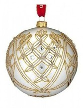 "Waterford Holiday Heirloom 2014 Avoca 5"" Ball Ornament New # 40001053 - $113.85"