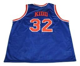 Jason Kidd #32 Pilots High School Basketball Jersey New Sewn Blue Any Size image 2