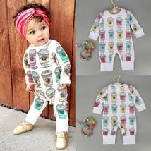 Newborn Kids Baby Boy Girl Infant Cotton Romper Jumpsuit Bodysuit Clothe... - $29.80