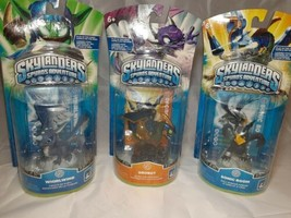 Skylanders Spyro's Adventure Lot of 3 Figures  Whirlwind Drobot & Sonic Boom NEW - $17.77