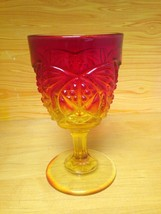 Vintage Amberina Drinking Glass - $9.95