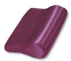 AB Contour Pillow Satin Burgundy - $29.82