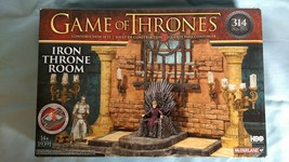 McFarlane Toys 19391 - Game of Thrones Iron Throne Room - 314 Pcs - New.... - $18.59