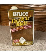 Bruce Liquid Paste Wax With Cleaner Dark N Rich Finish Hardwood Floor 32... - $178.19