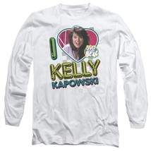 Kelly Kapowski Saved by the Bell t-shirt Retro 80's long sleeve T-shirt NBC144 image 1