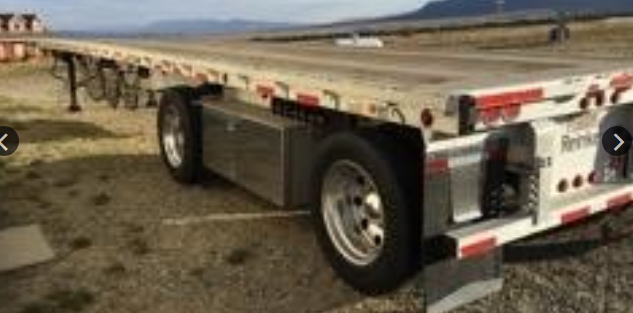 2006 Reinke Aluminum 48/102 Flatbed trailer 81211