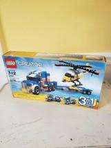 LEGO Creator Transport Truck 5765 NEW SEALED 276 PCS 3 IN 1 MODEL  - $28.06