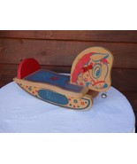 Vintage Wooden Childs Small Sit On Rocking Horse - $25.00