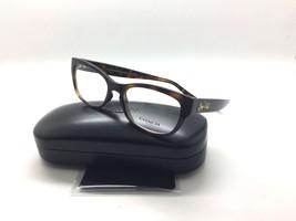 Coach Eyeglasses HC6104 T 5394 Dark Tort Dark Trot Gold Sig C 50MM - $67.87