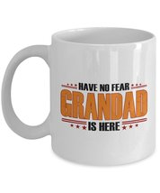 Grandad Gifts - Have No Fear Grandad is Here - Best Gifts for Grandpa - ... - $13.95