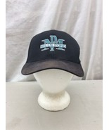 Trucker Hat Baseball Cap Vintage MILLS POND MP FLEXFIT S-M fitted Retro!!! - $39.99