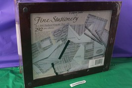 le paperie jardin Fine Stationery Set In Hardwood Keepsake Chest Sealed ... - $49.49