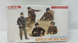 1:35 DML German tank crew figure set 1944-45 #6014 NAZI  MIP  - $17.64