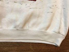 vintage ugly santa christmas sweatshirt jerzees XL image 6