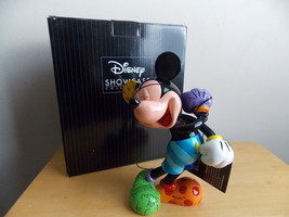 2015 Disney Britto Laughing Mickey Mouse Figurine  - $95.00