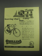 1948 Phillips Bicycles Ad - Knowing what's best - $14.99