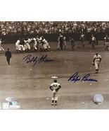 Bobby Thomson & Ralph Branca Signed Autographed 8x10 Photo - AVI Authent... - $99.99