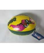 "Vintage 1994 Green Bay Packers The Flintstones Dino Soft 7"" Vinyl Footba... - $15.83"