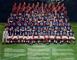 1992 CHICAGO BEARS 8X10 TEAM PHOTO FOOTBALL NFL PICTURE - $3.95