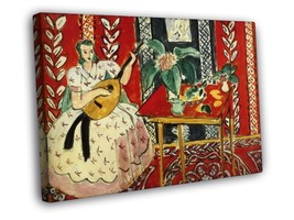 Henry Matisse The lute FRAMED CANVAS Print - $19.95+