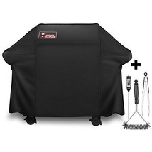 Grill Cover for Weber Genesis E and S Series Gas Grills+FREE 3Pc BBQ Ute... - £66.87 GBP