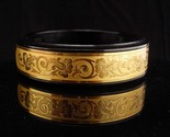 Hidden compartment bracelet  / french compact / French Marlowe Parisienne
