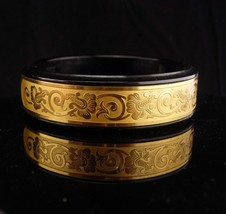 Hidden compartment bracelet  / french compact / French Marlowe Parisienne  - $295.00