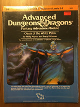 Rare AD&D Module I4 Oasis of the White Palm - In Shrink - 1983 - $392.69