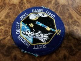 NASA Shuttle Patch Scott Wakata Duffy Jett Barry Chiao 72 Endeavour STS-... - $1.24