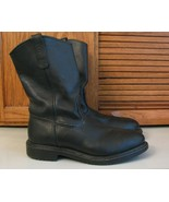 Red Wing PECOS 2253 Black Leather Motorcycle Western Work Boots Mens US ... - $64.34
