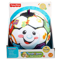 Fisher Price Laugh & Learn Singin' Soccer Ball  - $18.80