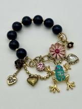 Betsey Johnson Frog Charm Bracelet - $20.00