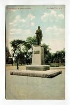Mayor W M Mack Statue, Elizabeth, New Jersey - $3.99