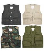 NEW KIDS CHILDREN  TOP GUN MULTI POCKET WAISTCOAT VEST ACTION ARMY CADET... - $17.02