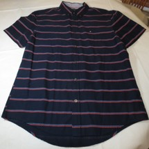 Men's Tommy Hilfiger Polo Short Sleeve shirt L Custom Fit 78B2619 409 na... - $38.11