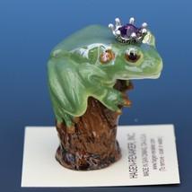 Birthstone Tree Frog Prince February Amethyst Miniatures by Hagen-Renaker image 2
