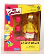 """SIMPSONS """"BOXING HOMER"""" TOYFARE LIMITED MAIL IN EXCLUSIVE - $36.14"""