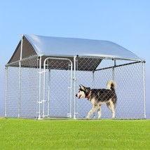7.5' x 7.5' Large Pet Dog Run House Kennel Shade Cage-Dog - $458.70
