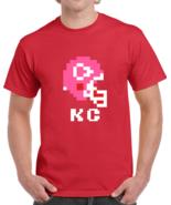 Kansas City Tecmo Bowl Retro 6 Bit Chiefs Nintendo Football T Shirt - $19.99